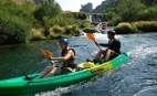Canoeing oder Rafting